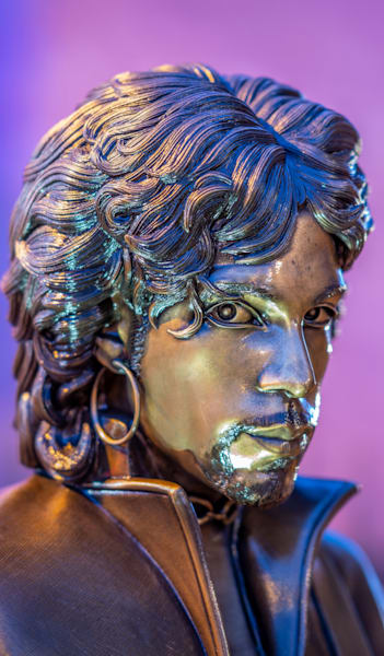 Prince Statue Looking At You   Phone Case He Art Photography Art | William Drew Photography