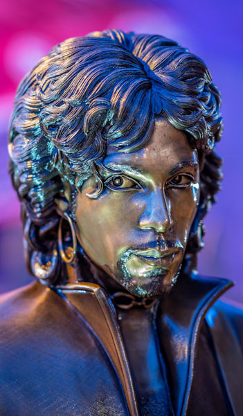 Prince Statue Stare   Phone Case He Art Photography Art | William Drew Photography