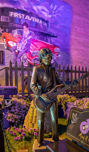 Prince Statue And Mural   Phone Case He Art Photography Art | William Drew Photography