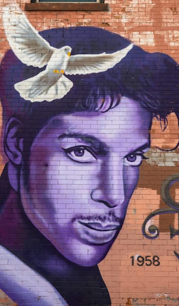 Uptown Prince Mural   Phone Case He Art Photography Art | William Drew Photography