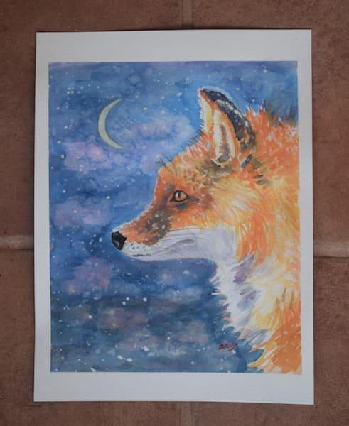 Winter Evening Art | Sharon Guy