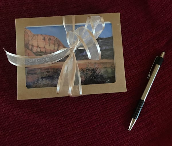 Lindy Cook Severns Art   12 Gift Boxed Notecards