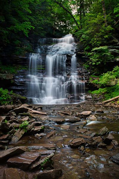 Ganoga Falls, Ricketts Glen, Pennsylvania