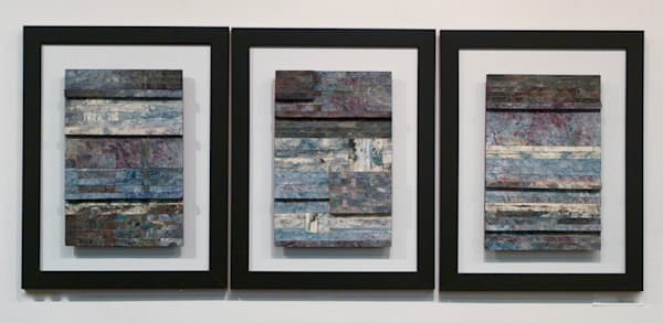 One By One Series A,B,C  (Originals) Art | Laurie Fields Studio