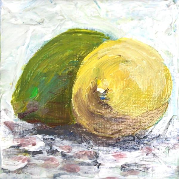 Lemon & Lime Mini Art | Sophie Dare Designs