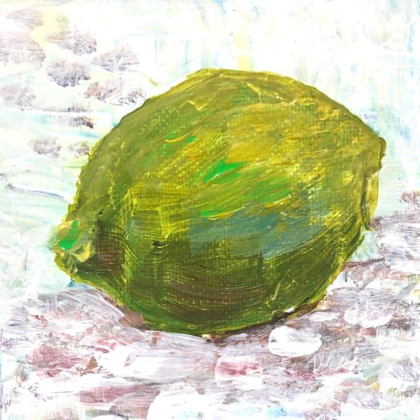 Lime Mini Art | Sophie Dare Designs