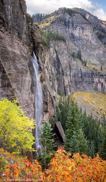 Mountain Cascade Art | The Carmel Gallery