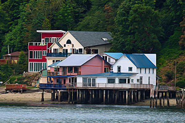 Fragaria Beach Houses - Painted Nr2
