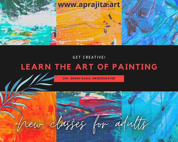 Adult Art classes by Aprajita Lal