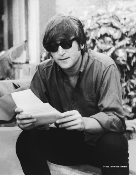 John Lennon At Young Island, 1966 Art | Randy Johnson Art and Photography
