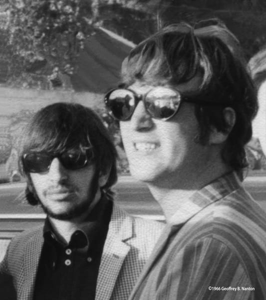 Ringo Starr/John Lennon At Young Island, 1966 Art | Randy Johnson Art and Photography