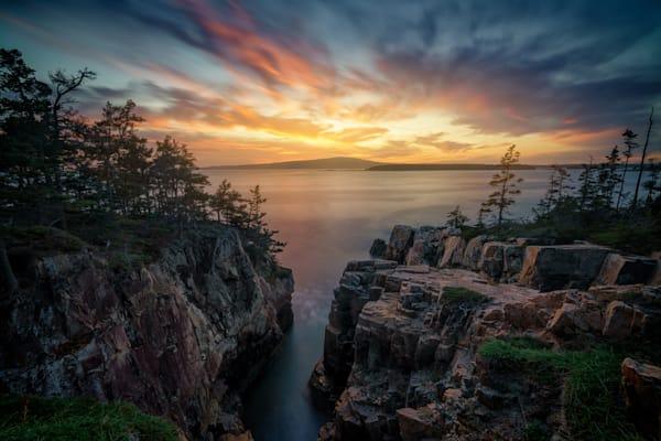 October Sunset at Raven's Nest | Shop Photography by Rick Berk