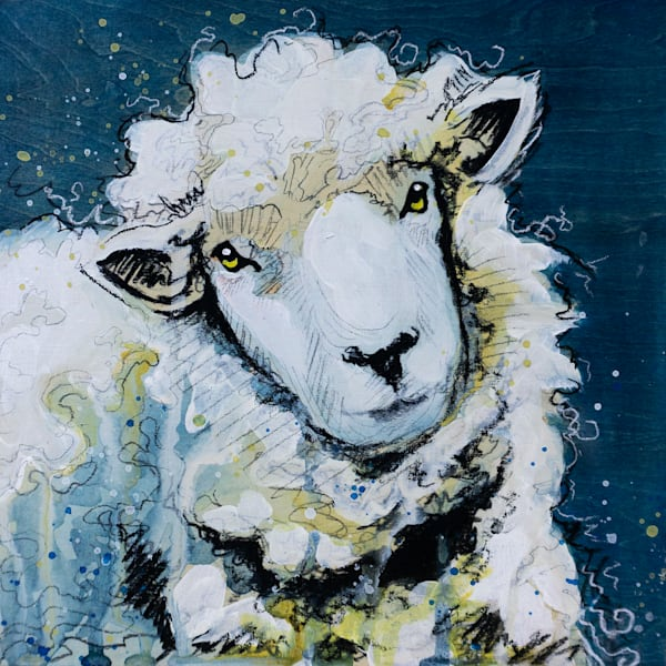 Wooly is the Lamb Original Painting