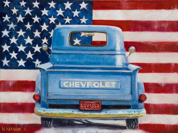Americana Chevy Art | Wendy Marquis Art