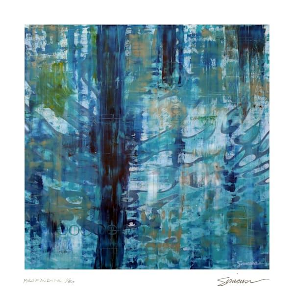 "Profondita, Limited Edition Print, 12"" X 12"" Art   juliesiracusa"