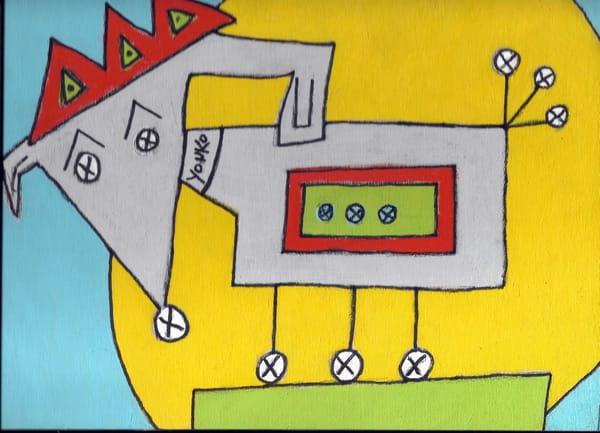 Tippy The Woder Dog Art | Yonko Kuchera