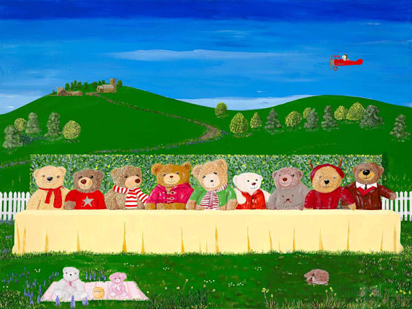 Teddy Bear's Last Supper