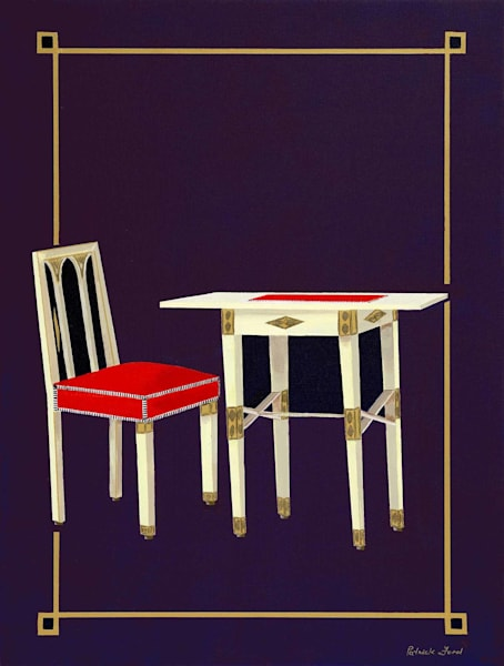 Gallia table and chair