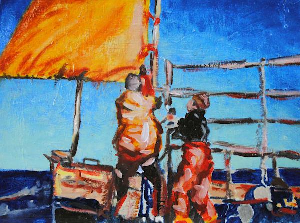 Sea, painting, ocean, catch, Jack, sail, Portland, Maine, lobster, lobsterman, fisherman, shanty
