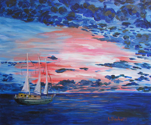 "Limited Edition ""Sailor's Delight Art | Linda Sacketti"