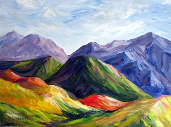 """Limited Edition """"Mountains In My Mind"""" Art 