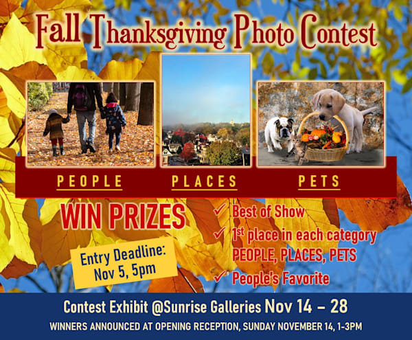 Fall Thanksgiving Photo Contest Entry   Sunrise Galleries