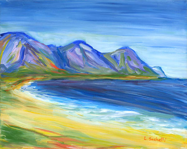 """Limited Edition """"At The Beach, South Africa"""" Art 