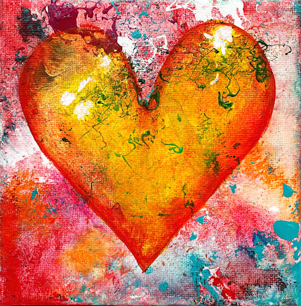 Floating In Love Art | The HeArt Painter