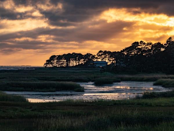 Sunset Along Route 6, Wellfleet Photography Art | Ben Asen Photography