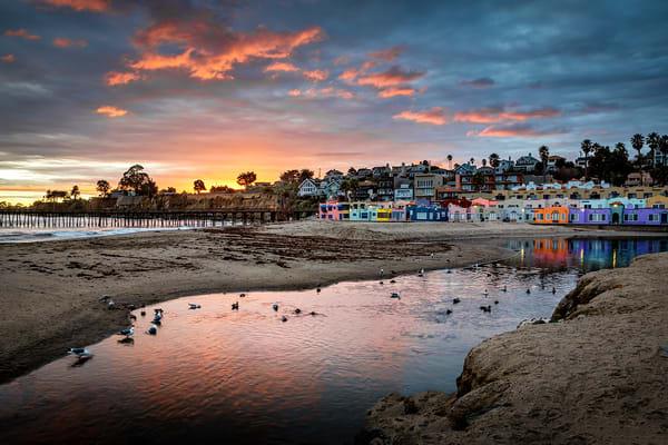 Sunset At Capitola Beach Art | Tony Pagliaro Gallery