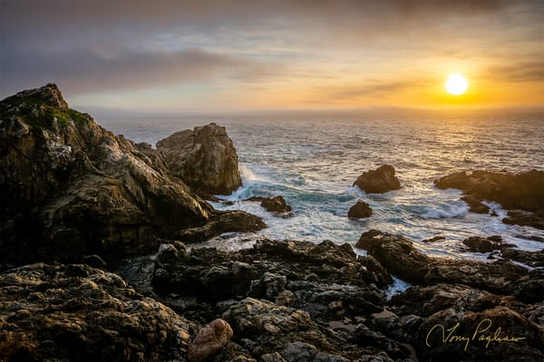 Sunset At Rocky Point   Big Sur, Ca Art | Tony Pagliaro Gallery