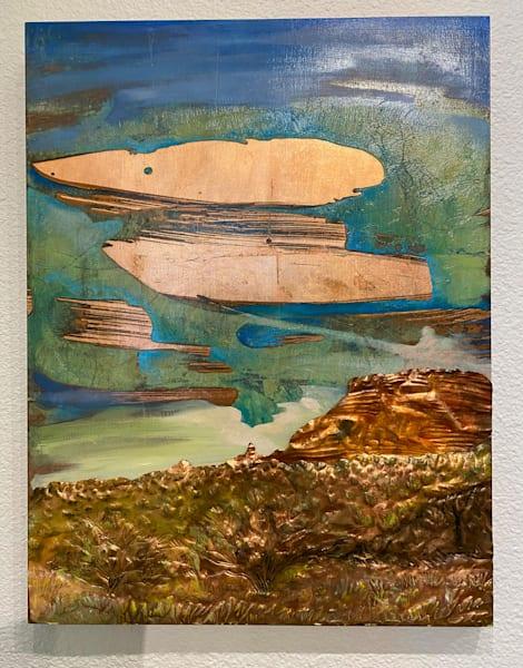 Illuminated Desert Original Art Art   Big Vision Art + Design