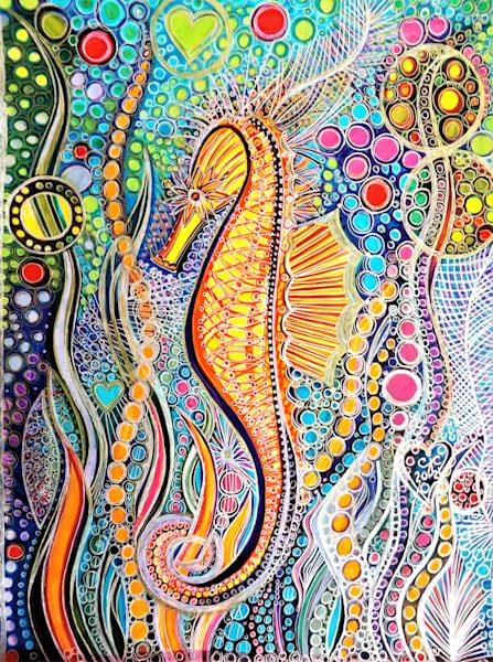 Ocean's Dancer Art | Cynthia Christensen Art
