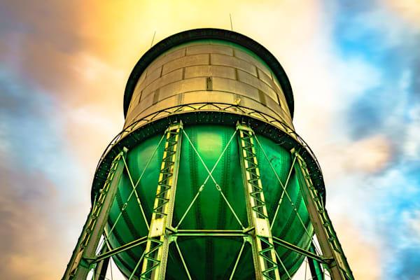 North Park Water Tower, San Diego Fine Art Print