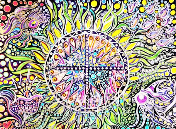 Ocean's Compass Art | Cynthia Christensen Art