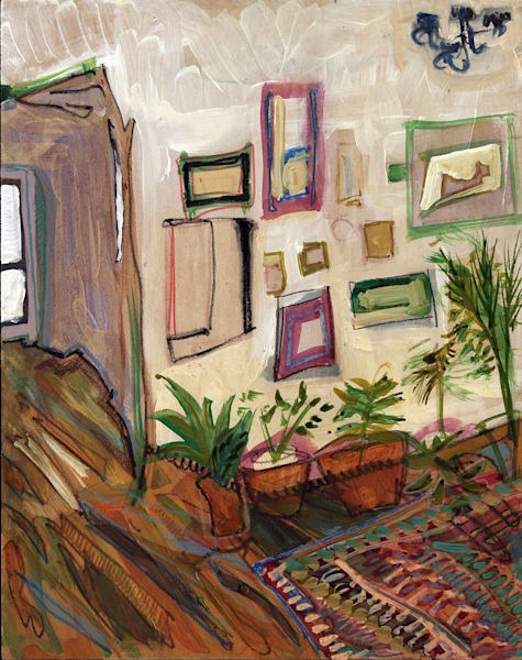 .Constance At 9th (With Plants) | Erika Stearly, American Artist