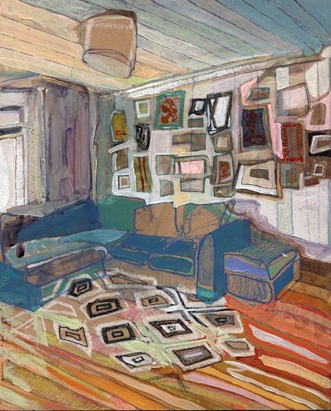 .Sarah's Glasgow Study | Erika Stearly, American Artist