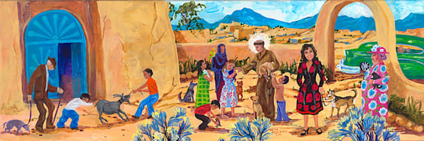 Blessing Of The Animals Art | Fine Art New Mexico