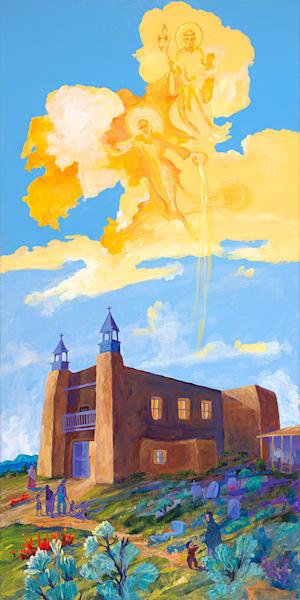 Las Trampas Church Art | Fine Art New Mexico