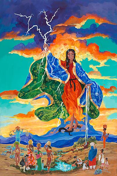 Virgin Of The Apocolypse Art | Fine Art New Mexico