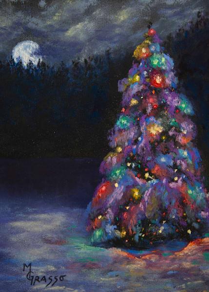 Silent Night   Limited Edition Art | Mark Grasso Fine Art