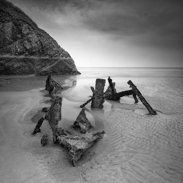 Rhossili Beach Wreck Art | Roy Fraser Photographer