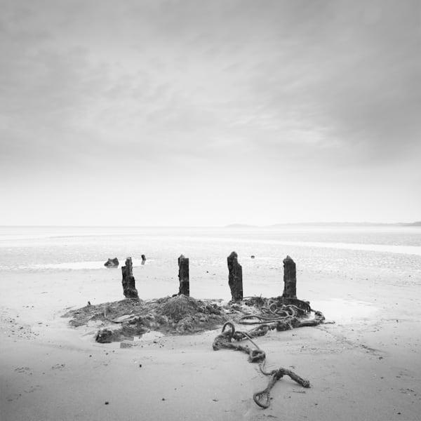 Rhossili Beach 4 Posts Art | Roy Fraser Photographer
