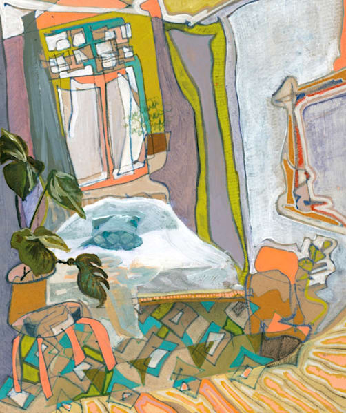 .Camile's Home In Berlin No. 01 | Erika Stearly, American Artist