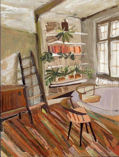 .Theo's Home In Berlin No. 102 | Erika Stearly, American Artist