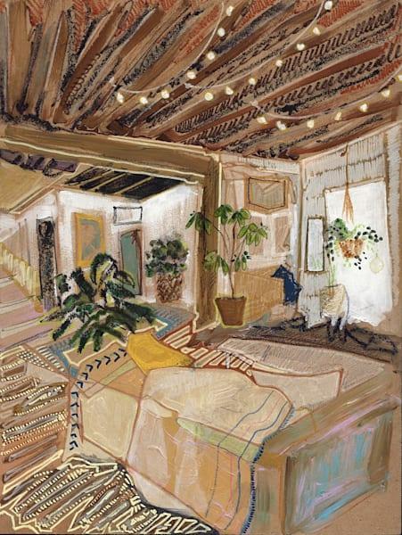 .Wooden Beams | Erika Stearly, American Artist
