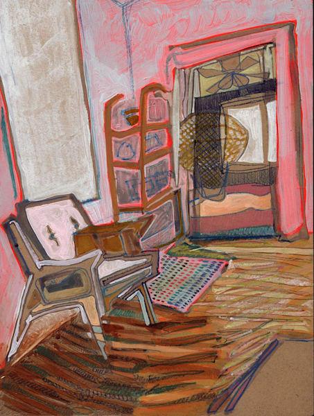 .Sarah's Home In South Carolina No. 101 | Erika Stearly, American Artist
