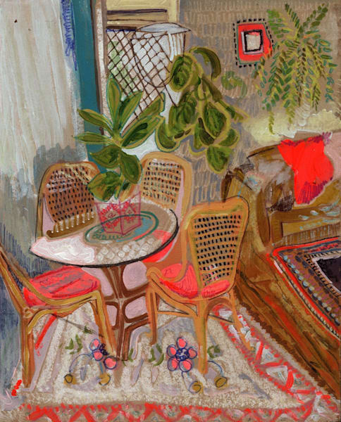 .Eva's Home In South Wales, No. 01 | Erika Stearly, American Artist