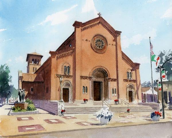 Stl St Ambrose On The Hill Art | Steven Dragan Fine Art