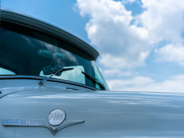 Vintage Ford F 100 Truck Photography Art | Happy Hogtor Photography